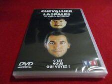 """DVD NEUF """"CHEVALLIER & ET LASPALES AU PALAIS DES GLACES - C'EST VOUS QUI VOYEZ"""""""