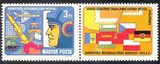 UNGHERIA 1973 Militare/Soldato/Piano/SPEDIZIONE/MISSILE/stampex/ANIMAZIONE 1 V (n40325)
