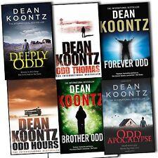 Dean Koontz Odd Thomas 6 Books Collection Pack Set -ODD Apocalypse, Hours New