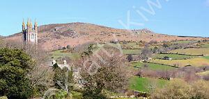 Widecombe-in-the-Moor  Dartmoor Devon Photo Canvas 10 x 22 inch panoramic (UK)