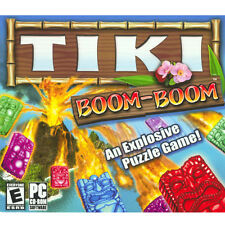 Tiki Boom Boom  Game on CD-ROM for PC - NEW in JewelBox