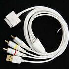 Composite Video to TV RCA AV USB Cable Charger for iPhone 4S 4 i Pad 3 2 Touch