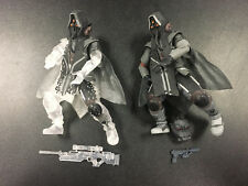 Killzone 3 Helghast Sniper and Cloaked Sniper Action Figure Lot