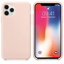 Silicone Case Cover for apple iPhone x/xs max 11 pro max original matte non-slip