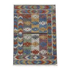 Persian Tribal Hand Woven Afghan Kilim Oriental Area Rug Small Carpet 3x5 ft