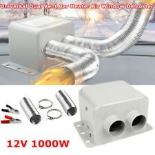Universal 12V 1000W 2 Outlet Car RV Seat Dash Heater Heated Air Window Defroster