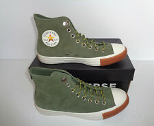 CONVERSE All Star Hiker Hi Mens Khaki New Suede Casual Shoes Trainers UK Size 7