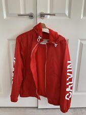 Calvin Klein windproof showerproof lightweight men's jacket size Small