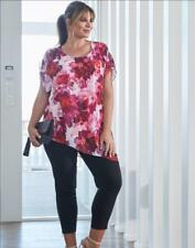 NEW..Stunning Plus Size Autograph Floral Asymetrical Top..Sz20