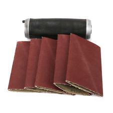 Aluminum Pneumatic Sanding Drum Rubber Sleeve With Sanding Belt For Polishing