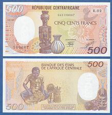 Central African Republic 500 Francs P 14c 1987 UNC Low Shipping! Combine FREE!