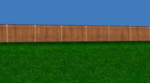 O Scale Wood Fence Model Train Scenery Sheets – Five 8.5x11 w/ Multiple Sizes