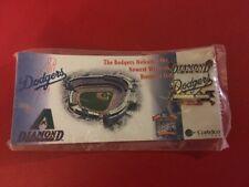 Dodgers Diamondbacks Inaugural Season Pin  1998 Sealed In Package