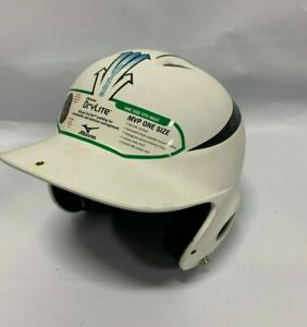Mizuno MVP One Size Batter's Helmet Matte White/Black 380182 **** Baseball