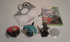 Disney Infinity XBOX 360 Starter Pack 1.0 Game 3 Figures Portal Crystal Playset