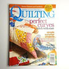 American Patchwork & Quilting Magazine Better Homes & Garden August 2005
