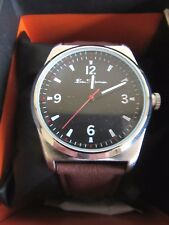BEN SHERMAN WATCH TAN COLOUR LEATHER STRAP & BLACK FACE BRAND NEW RRP $70
