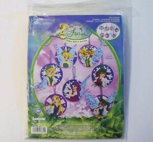 Janlynn Disney Fairies Holiday Hangers Felt Applique Kit Ornaments Tinker Bell