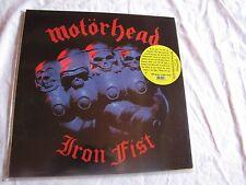 Sealed Motorhead Iron Fist Earmark 180 gram perfect reissue
