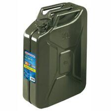 Tanica carburante Benzina Diesel tipo Militare in metallo 10l Cod. 67001 Lampa