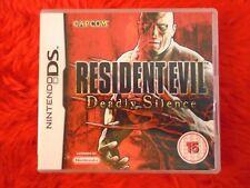 ds RESIDENT EVIL DEADLY SILENCE Survival Horror Lite DSi 3DS PAL UK