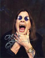 REPRINT - OZZY OSBOURNE 7 Black Sabbath autographed signed photo