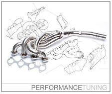 Collecteur INOX BMW E30 / E36  316i / 318i M40  -TA-Technix- +TÜV +JOINTS