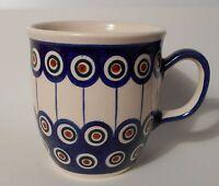 Große Kaffee / Tee Tasse aus Bunzlauer Keramik; 350ml (*4027)