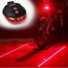 LASER LUCE BICI BICICLETTA Lane Notte Sicurezza Alta Visibilità CYCLE proiezione LED