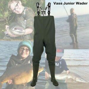 Vass Tex 600 Junior Kids Women Series Chest Wader VA600-70J  - Carp Fishing *New