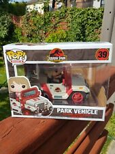 Funko Pop! Rides Jurassic Park Dr. Ellie Sattler In Jeep 39 (Large) Free P&P