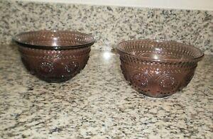 2-Pioneer Woman 13 oz Plum Bowls (Ice Cream, Cereal, Yogurt)