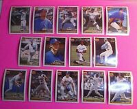 1991 Topps Desert Shield, Seattle Mariners - Lot of (14) diff Cards. All NmMt
