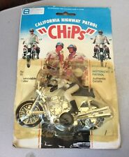 Rare 70s#FLEETWOOD chips california highway  patrol MOTORCYCLE official