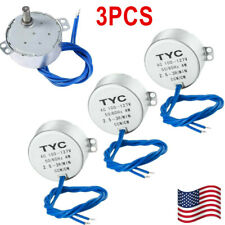 3Pcs Synchronous Turntable Motor Electric for Cup Turner Cuptisserie Tumbler US