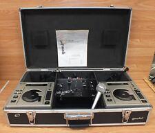 Gemini Cdj-10 & Brand X Xdj-7 Dual Professional Cd Player w/ Realistic Mic *Read