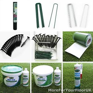 Artificial Grass Accessories Fitting Membrane Pegs Adhesive Tape Cheap