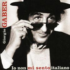 GIORGIO GABER - IO NON MI SENTO ITALIANO NEW CD