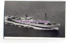 cb1039 - Dutch Cargo Ship - Waterland , built 1957 - postcard