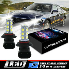LED Driving Light 2PCS LED Fog Lights Bulb For Dodge Charger 2006 2007 2008 2009