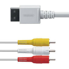 ★★ Wii : Cable vidéo AV RCA NINTENDO d'Occasion Garantie 1an ★★