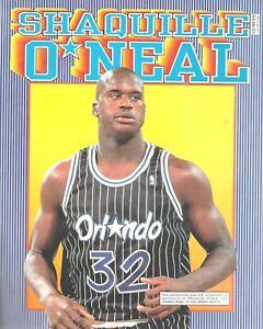 Shaquille ONeal Larry Johnson 1994 KidsBooks Publication NBA Vintage