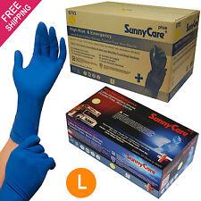 SunnyCare 500 powder-free,13MIL NFPA High-Risk & Emergency Latex Exam Gloves, L