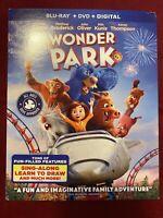 Wonder Park - BLU-RAY + DVD + DIGITAL CODE + SLIPCOVER  BRAND NEW