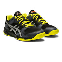 Asics Girls Gel-Tactic GS Volleyball Shoes - Black Yellow Sports Handball