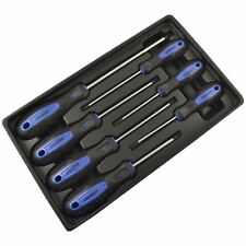 7pc Torx Star Magnetic Screwdriver Set With Cushioned Grip T10 - T30