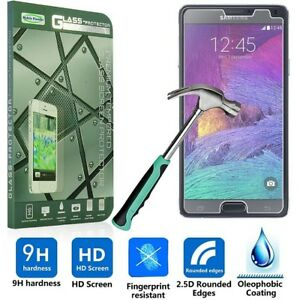 Samsung Galaxy Note 2 3 4 5 Tempered Glass Shock Proof Screen Guard Protector