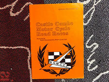 1983 CASTLE COMBE PROGRAMME 23/4/83 - MOTOR CYCLE ROAD RACES