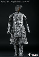 """AS Toys Ancient General Knight Armor Sliver AS008 1/6 Scale F 12"""" Action Figures"""