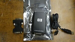 Genuine HP NL571AA USB 2.0 External Graphics Adapter Model # AN2464 584670-001